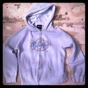 🦚3 for $10🦚 Billabong zip up hoodie size medium